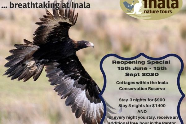 Inala Cottages on Bruny - Reopening Special