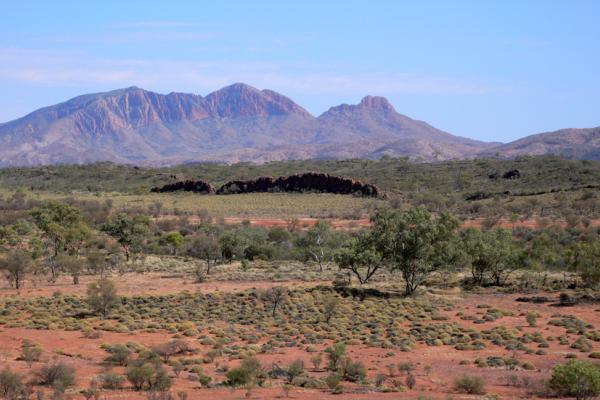West MacDonnell Ranges, Mount Sondar, Central Australia, Daniela Brozek Cordier