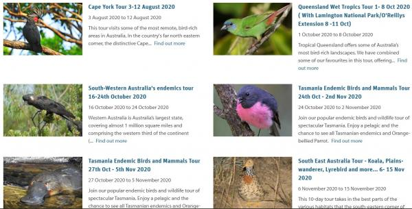 Australians exploring Australia - Inala Nature Tours