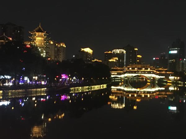 Chengdu at night - Tonia Cochran - China Sichuan - Inala Nature Tours
